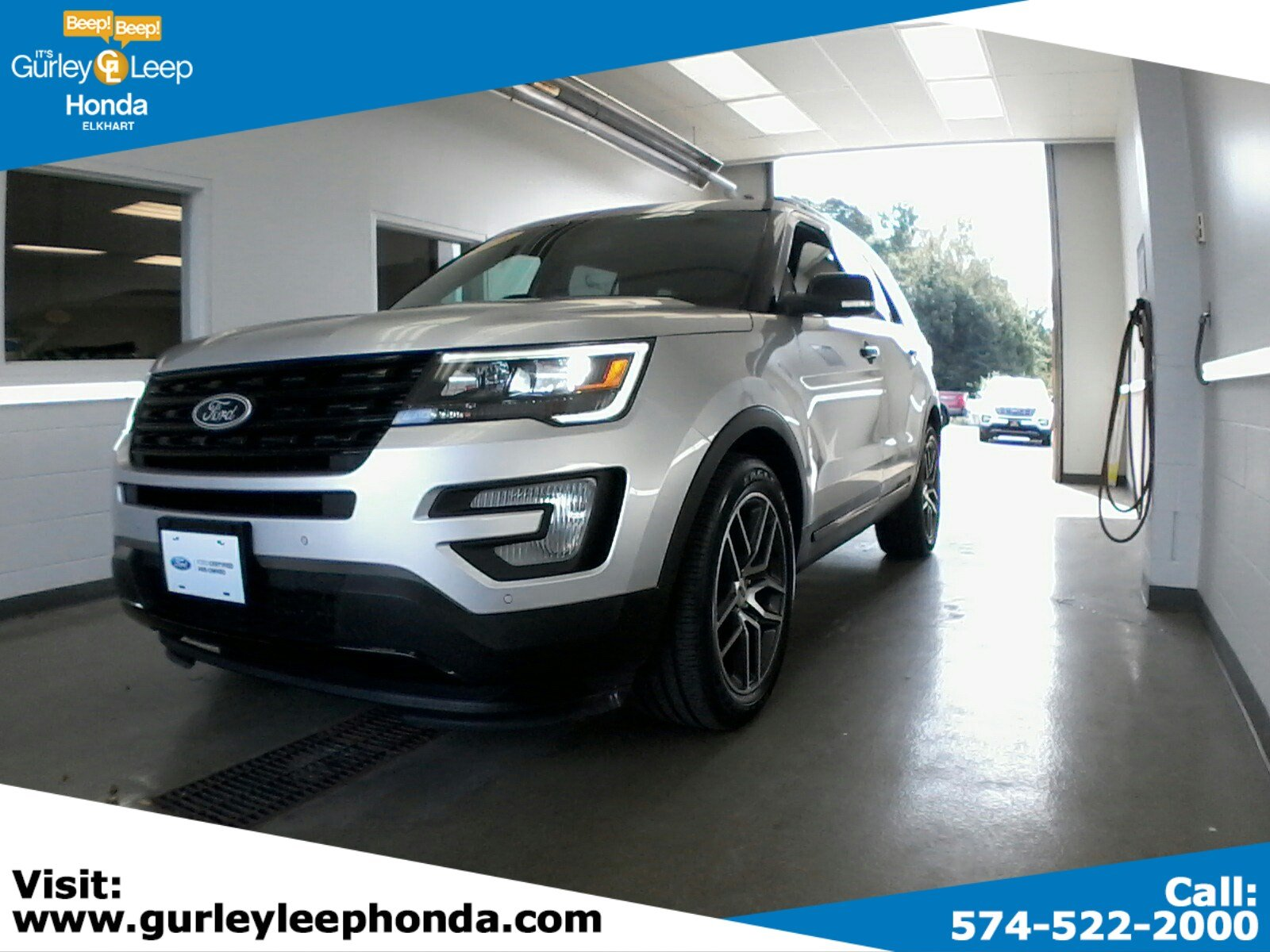 Certified pre owned 2016 ford explorer sport