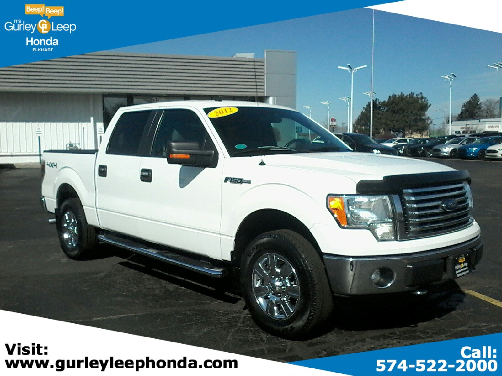 2012 Ford F 150 Xlt >> Pre Owned 2012 Ford F 150 Xlt 4wd