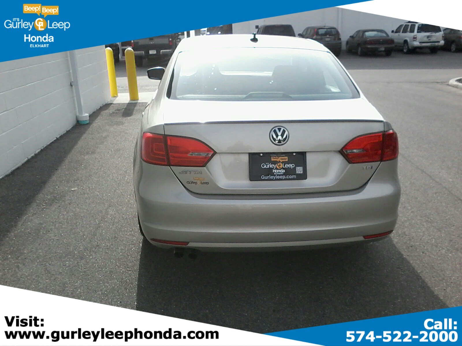 Pre-Owned 2014 Volkswagen Jetta Sedan 2.0L TDI