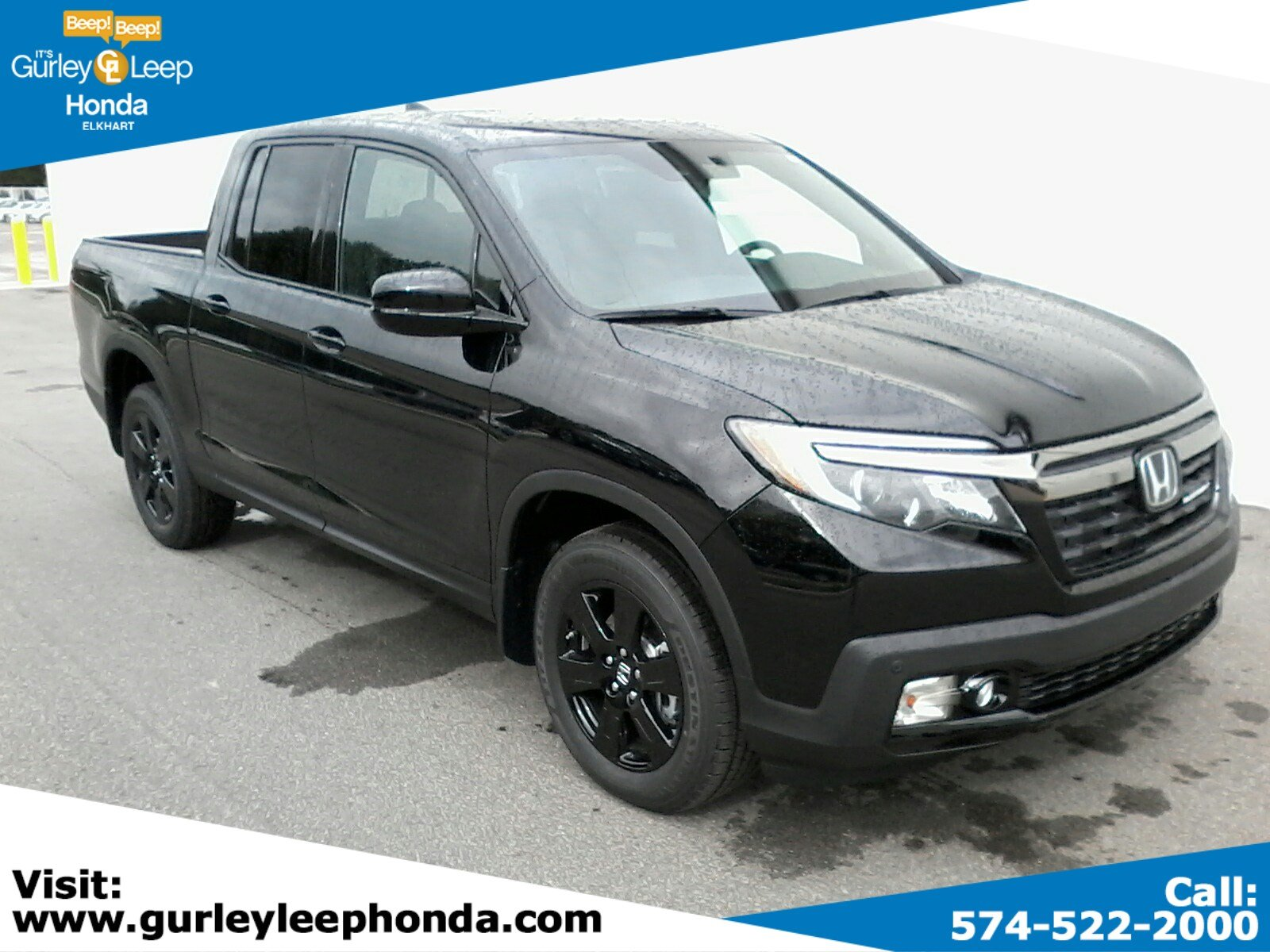New 2019 Honda Ridgeline Black Edition