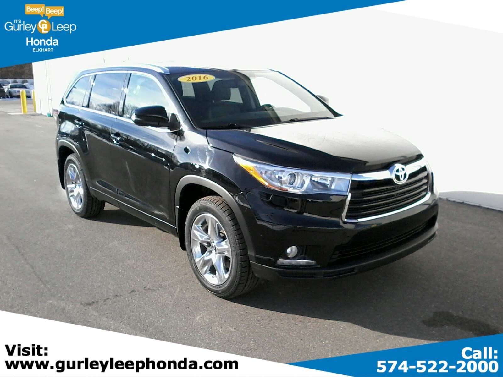 Pre Owned 2016 Toyota Highlander Limited Platinum V6
