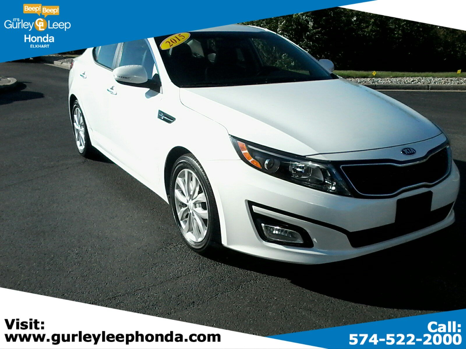 Certified Pre Owned 2015 Kia Optima EX 4dr Car in Elkhart YD5132