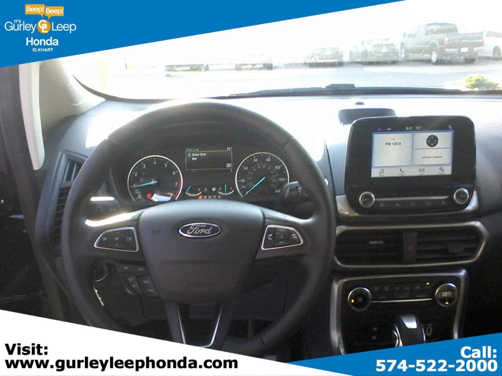 Pre-Owned 2019 Ford EcoSport SE